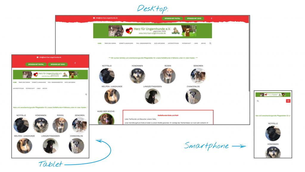 Herz für Ungarnhunde